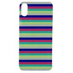 Stripey 6 Apple Iphone Xs Tpu Uv Case by anthromahe