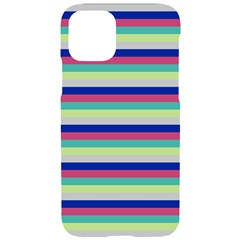 Stripey 6 Iphone 11 Pro Black Uv Print Case by anthromahe