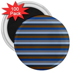Stripey 7 3  Magnets (100 Pack) by anthromahe