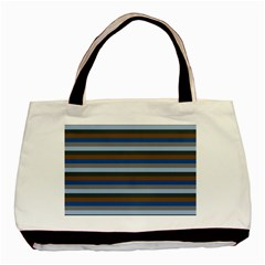 Stripey 7 Basic Tote Bag by anthromahe