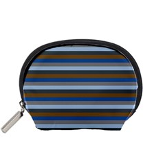 Stripey 7 Accessory Pouch (small) by anthromahe