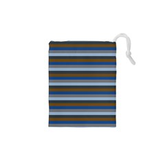 Stripey 7 Drawstring Pouch (xs) by anthromahe