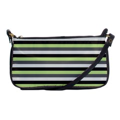 Stripey 8 Shoulder Clutch Bag by anthromahe