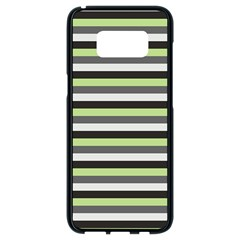 Stripey 8 Samsung Galaxy S8 Black Seamless Case by anthromahe