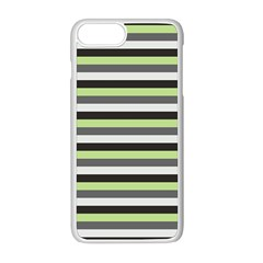 Stripey 8 Iphone 8 Plus Seamless Case (white) by anthromahe