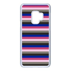 Stripey 9 Samsung Galaxy S9 Seamless Case(white) by anthromahe