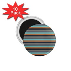 Stripey 10 1 75  Magnets (10 Pack)  by anthromahe