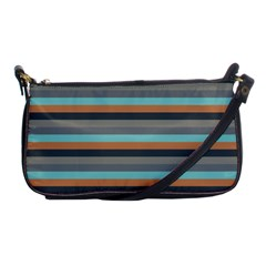 Stripey 10 Shoulder Clutch Bag by anthromahe
