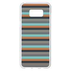 Stripey 10 Samsung Galaxy S8 Plus White Seamless Case by anthromahe