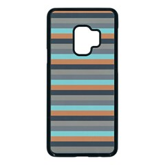 Stripey 10 Samsung Galaxy S9 Seamless Case(black) by anthromahe