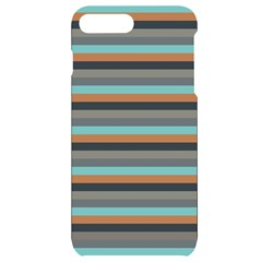Stripey 10 Iphone 7/8 Plus Black Uv Print Case by anthromahe