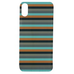 Stripey 10 Apple Iphone Xs Tpu Uv Case by anthromahe