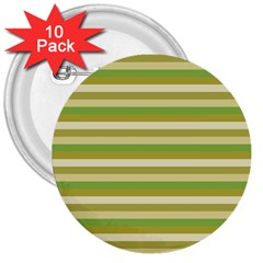 Stripey 11 3  Buttons (10 Pack)  by anthromahe