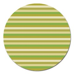 Stripey 11 Magnet 5  (round) by anthromahe