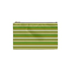 Stripey 11 Cosmetic Bag (small) by anthromahe