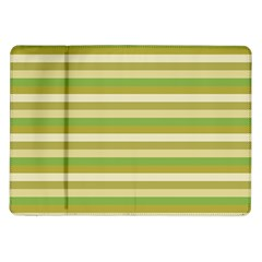 Stripey 11 Samsung Galaxy Tab 10 1  P7500 Flip Case by anthromahe