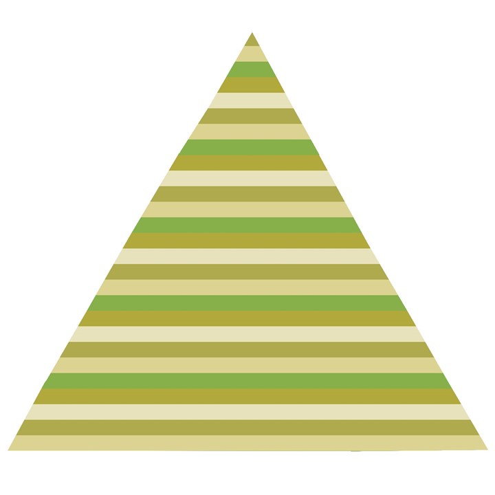 Stripey 11 Wooden Puzzle Triangle