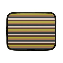 Stripey 12 Netbook Case (small) by anthromahe