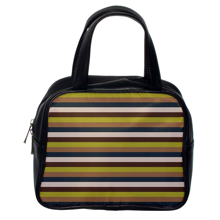 Stripey 12 Classic Handbag (One Side)