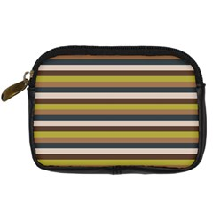 Stripey 12 Digital Camera Leather Case by anthromahe