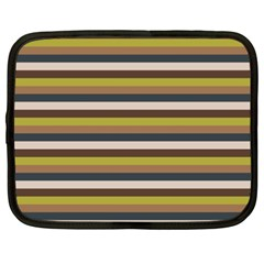 Stripey 12 Netbook Case (xxl) by anthromahe