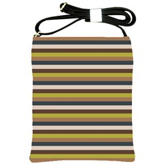 Stripey 12 Shoulder Sling Bag by anthromahe