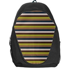 Stripey 12 Backpack Bag by anthromahe