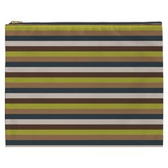 Stripey 12 Cosmetic Bag (xxxl) by anthromahe