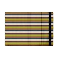 Stripey 12 Apple Ipad Mini Flip Case by anthromahe
