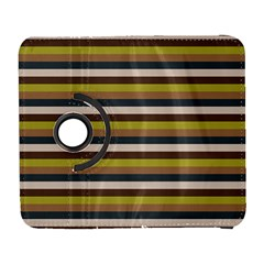 Stripey 12 Samsung Galaxy S  Iii Flip 360 Case by anthromahe