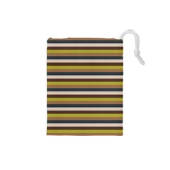 Stripey 12 Drawstring Pouch (small) by anthromahe