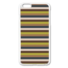 Stripey 12 Iphone 6 Plus/6s Plus Enamel White Case by anthromahe