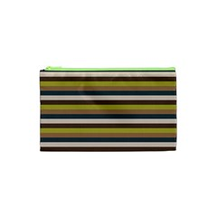 Stripey 12 Cosmetic Bag (xs) by anthromahe