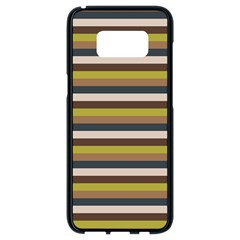 Stripey 12 Samsung Galaxy S8 Black Seamless Case by anthromahe