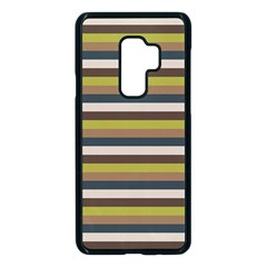 Stripey 12 Samsung Galaxy S9 Plus Seamless Case(black) by anthromahe