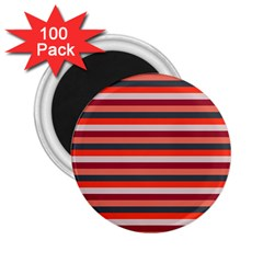 Stripey 13 2.25  Magnets (100 pack)