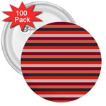 Stripey 13 3  Buttons (100 pack)  Front