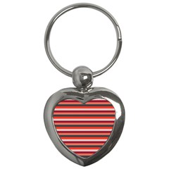 Stripey 13 Key Chain (Heart)