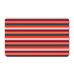 Stripey 13 Magnet (Rectangular)