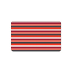 Stripey 13 Magnet (Name Card)