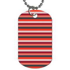 Stripey 13 Dog Tag (One Side)