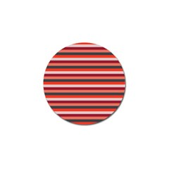 Stripey 13 Golf Ball Marker