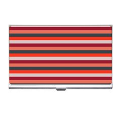 Stripey 13 Business Card Holder
