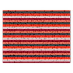Stripey 13 Rectangular Jigsaw Puzzl