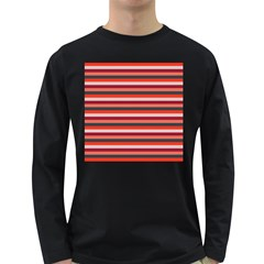 Stripey 13 Long Sleeve Dark T-Shirt