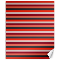 Stripey 13 Canvas 8  x 10