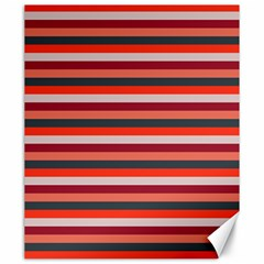 Stripey 13 Canvas 20  x 24