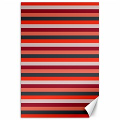Stripey 13 Canvas 20  x 30