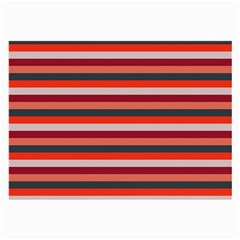 Stripey 13 Large Glasses Cloth (2 Sides)