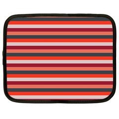 Stripey 13 Netbook Case (Large)